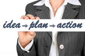idea - plan - action